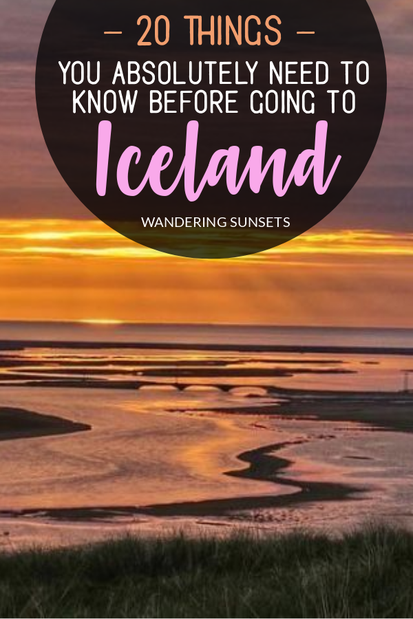 20 things you need to know before going to Iceland