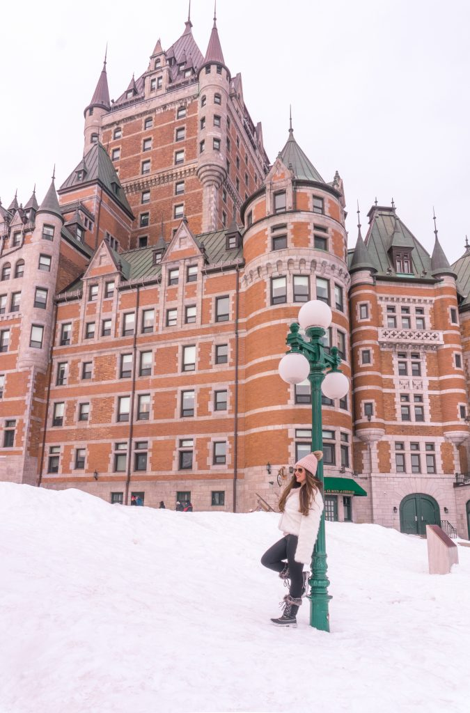 7 Things to Do in Quebec City in Winter - Chateau Fairmont Frontenac