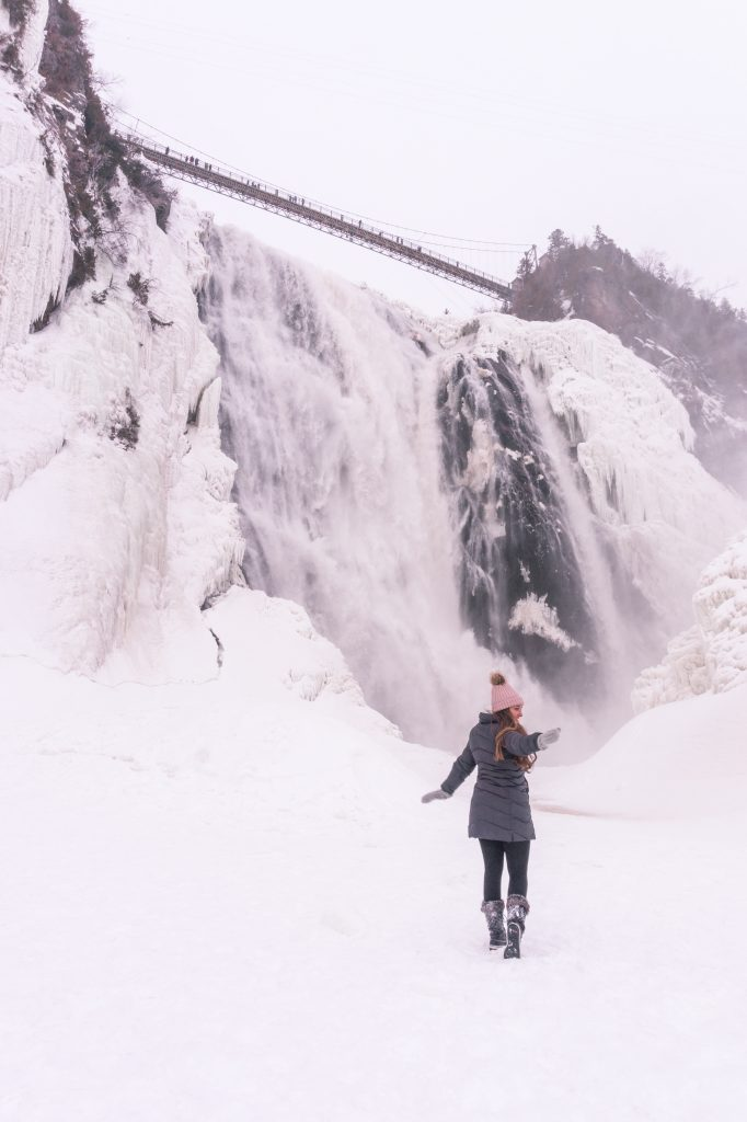 15 Most Instagrammable Places in Quebec City - Montmorency Falls