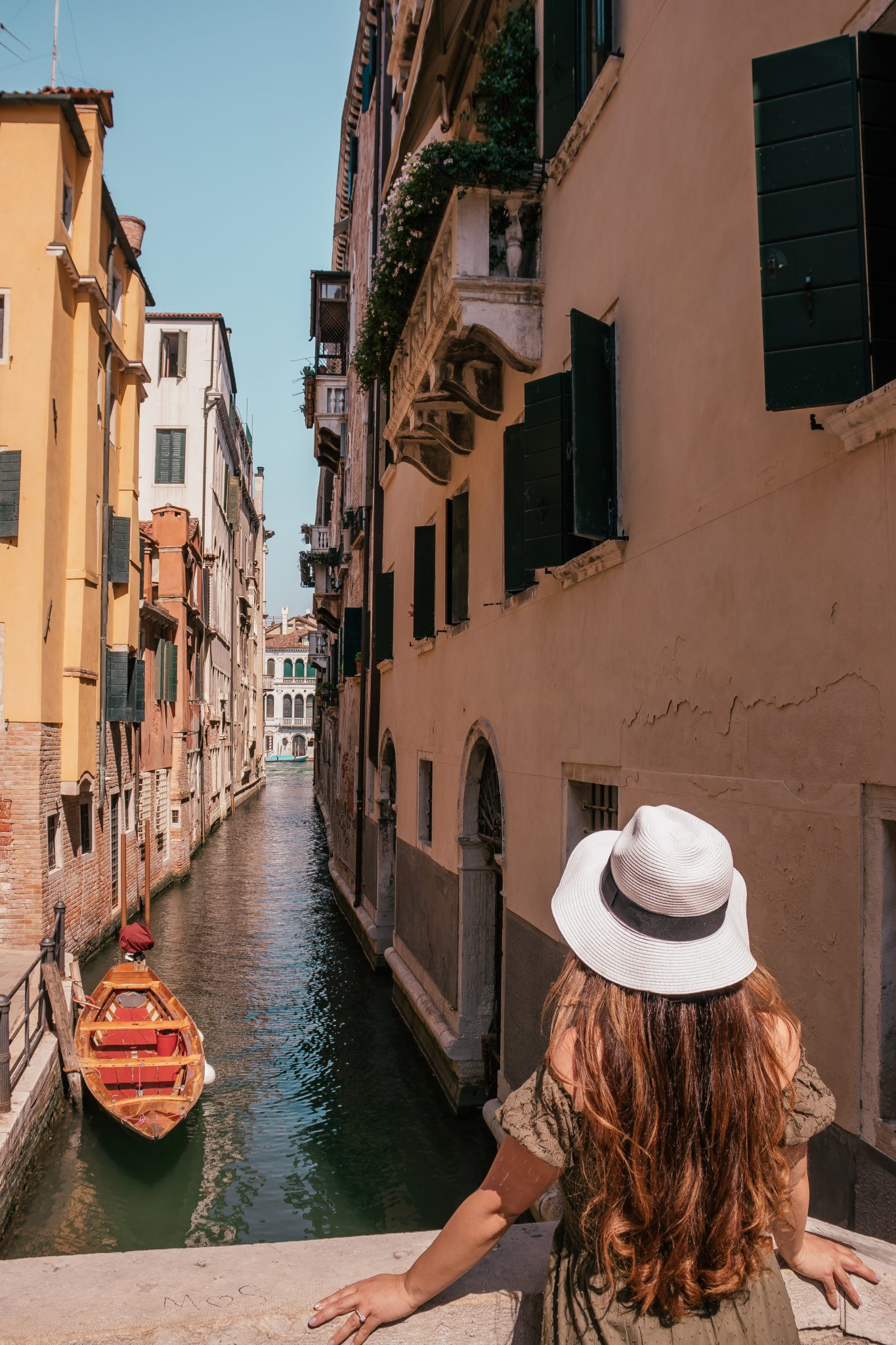 Most Instagrammable Places In Venice - small canals and bridges