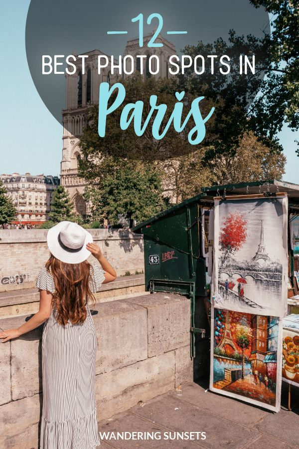 The 12 Best Photo Spots in Paris