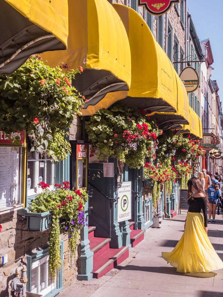 15 Most Instagrammable Places in Quebec City -Rue St Louis