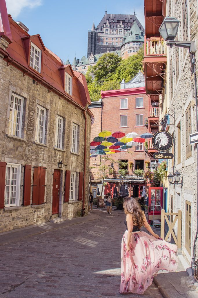 15 Most Instagrammable Places in Quebec City - Rue Petit Champlain