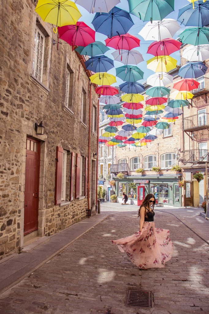 15 Most Instagrammable Places in Quebec City -Rue du Cul de Sac