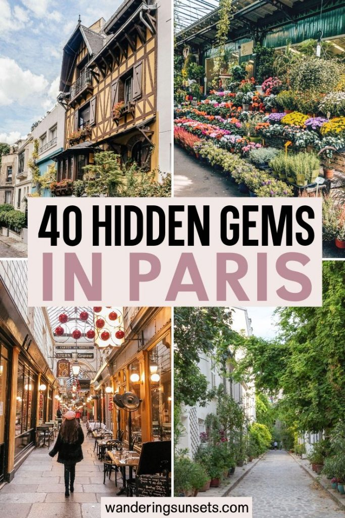 Paris hidden gems