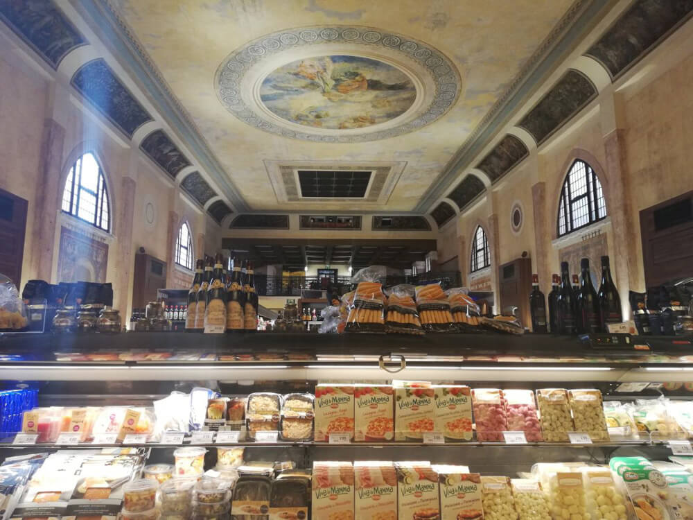 One of Venice's hidden gems, a beautiful supermarket inside an old cinema