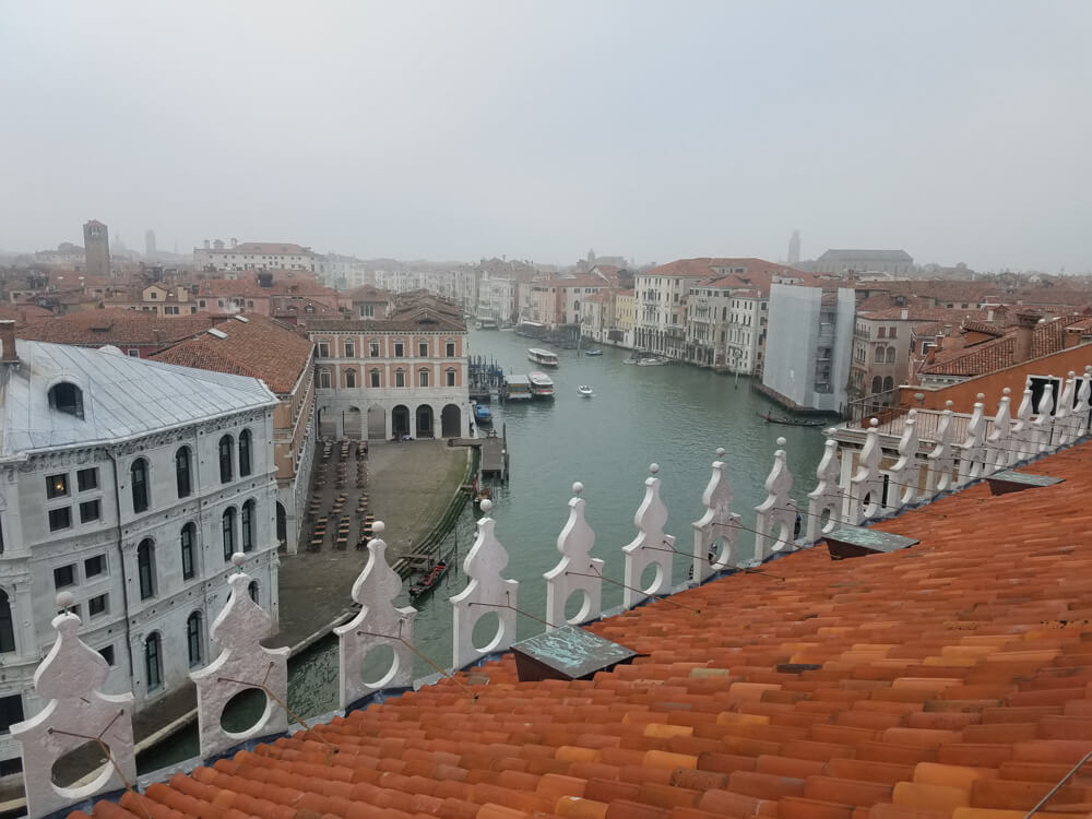 At T Fondaco dei Tedeschi has the the ultimate rooftop view of the Grand Canal in Venice