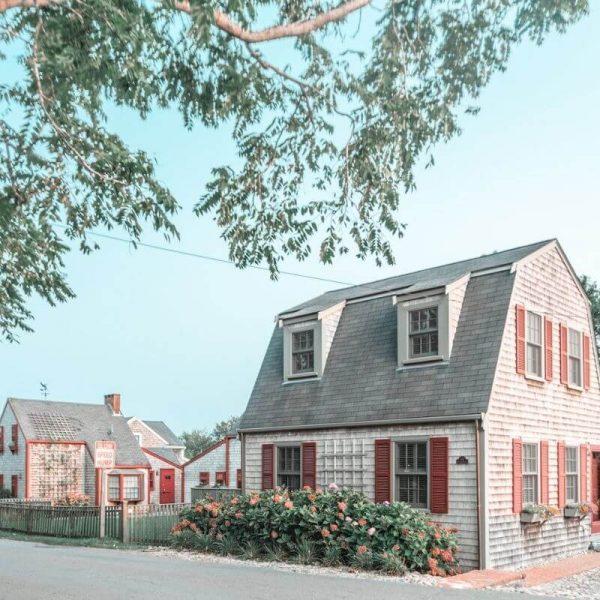 Cute houses in Nantucket