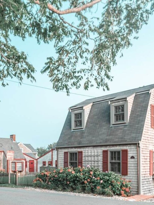 Cute houses in Nantucket
