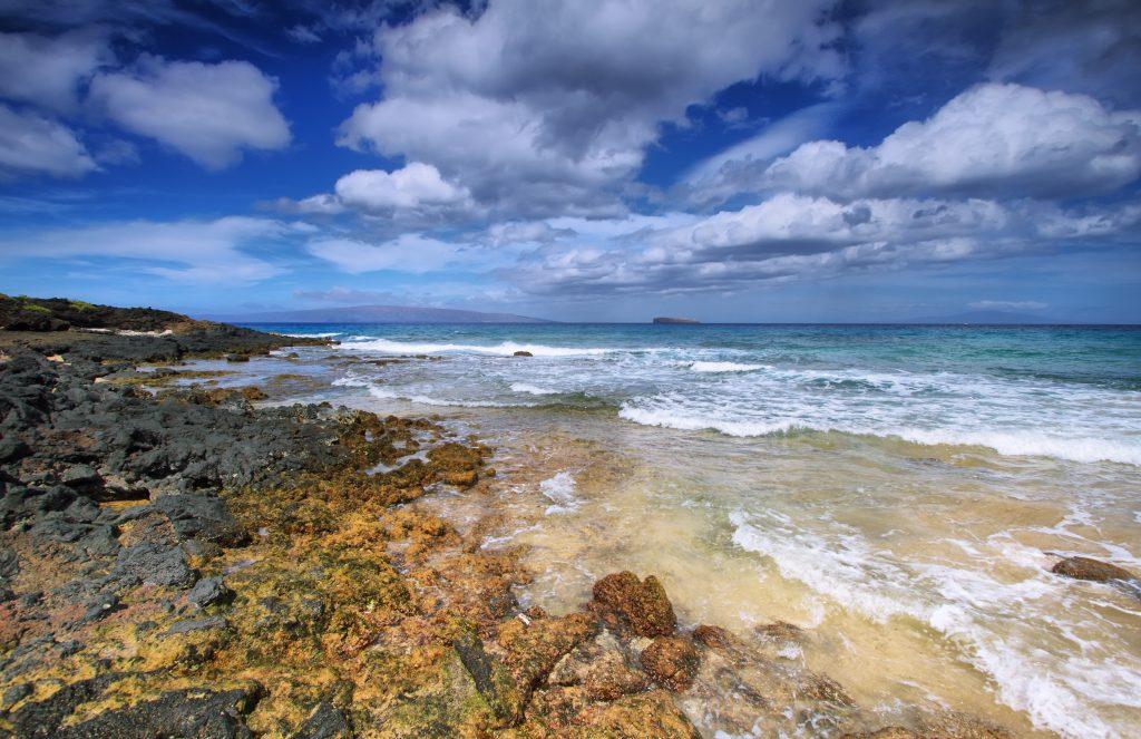 Makena beach State park,