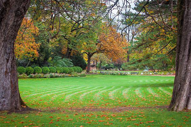 Paris Fall Foliage Destinations: Parc Monceau