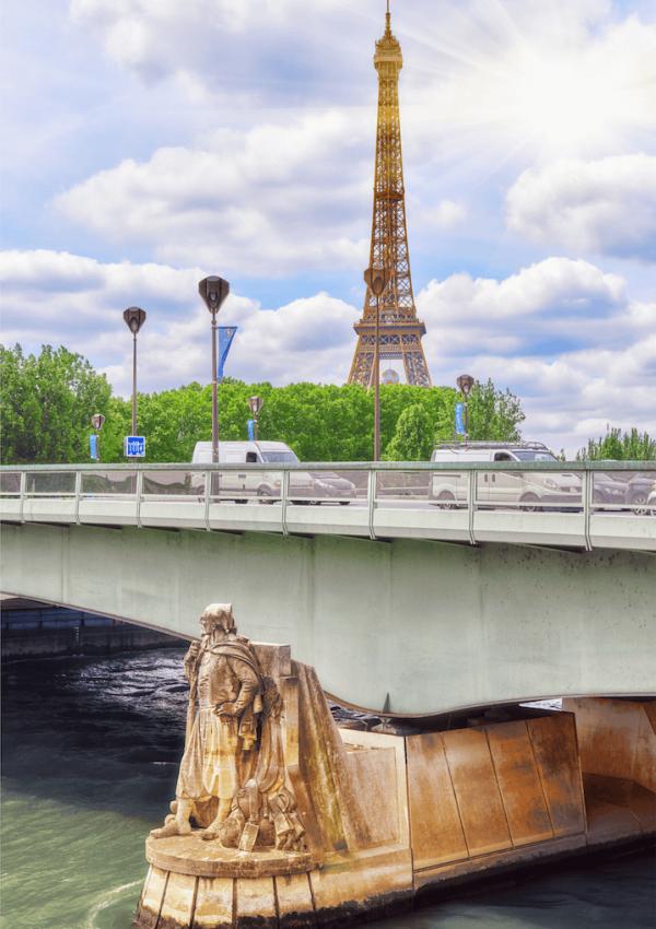 Most Beautiful Bridges of Paris