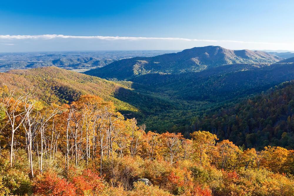 Shenandoah National Park, Virginia - US Fall Destinations