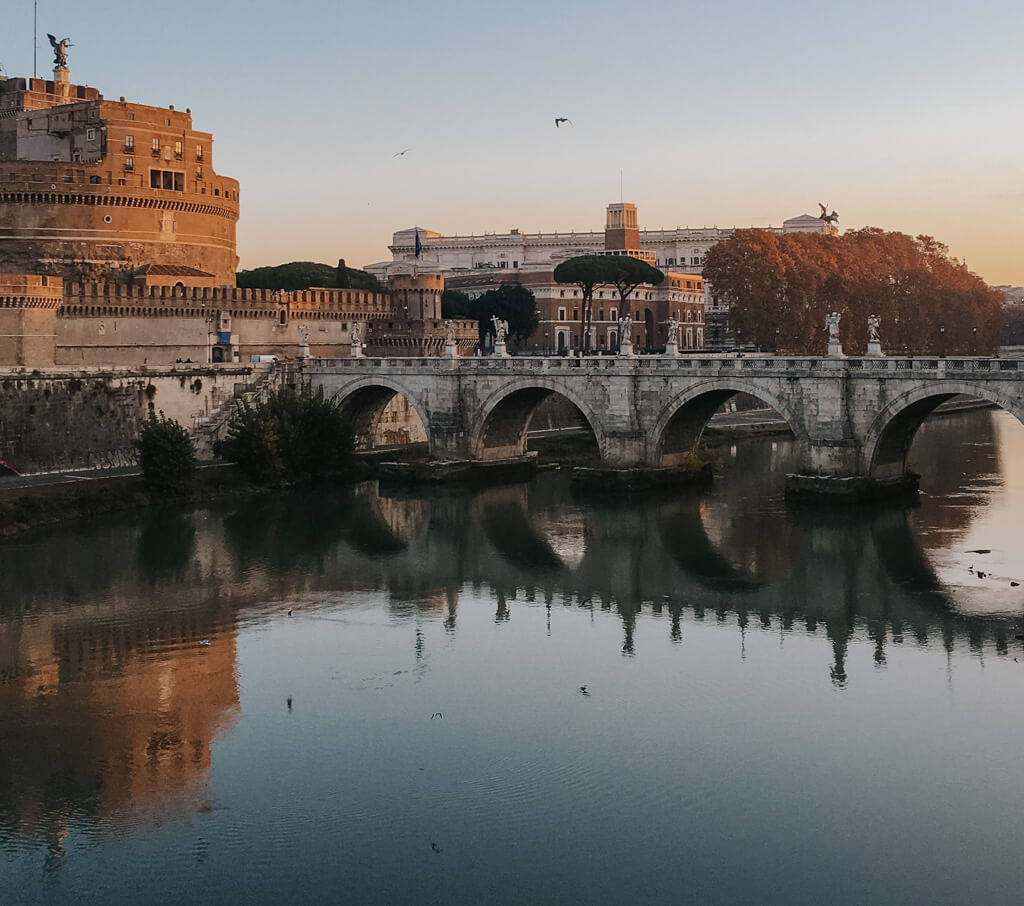 Roma Italy in Fall